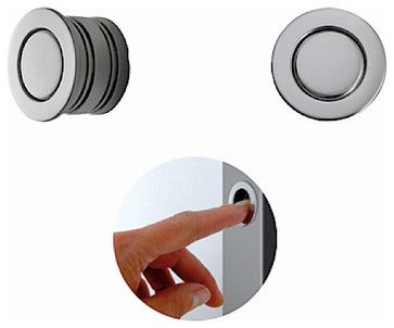 Magnetic Edge Pull 594 30 Modern Pulls Pocket Doors Magnets Edges