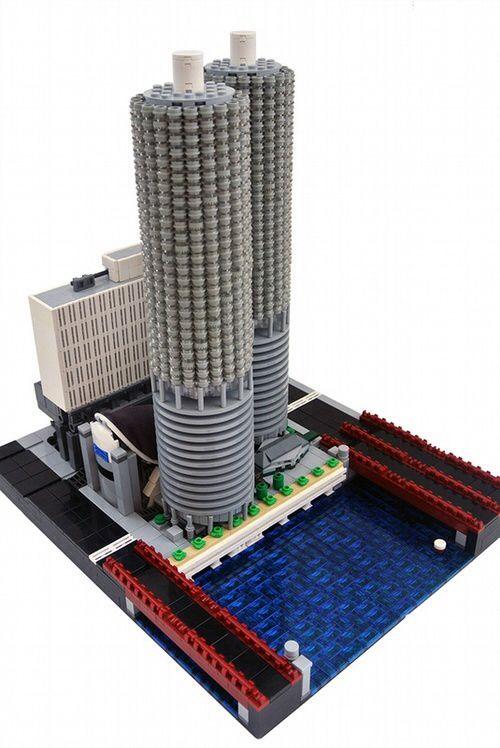 Lego Marina City Chicago