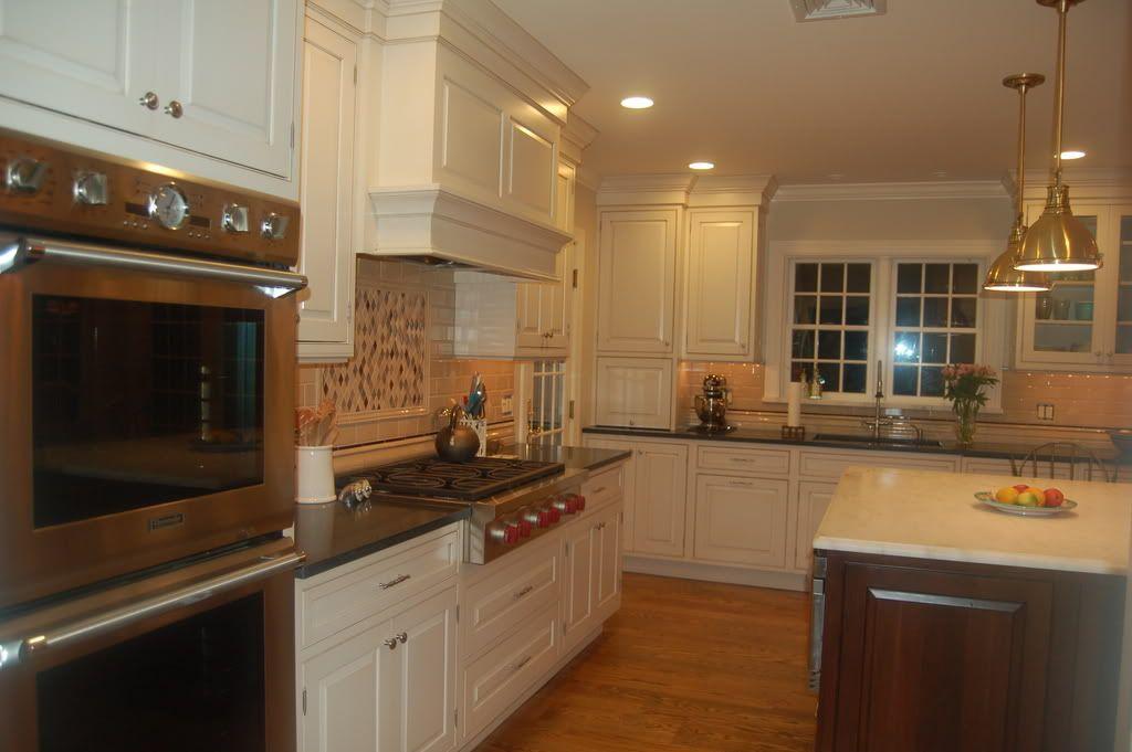 CREAM KITCHEN CABINETS | ... kitchen_Cream Cabinets, Dark ...