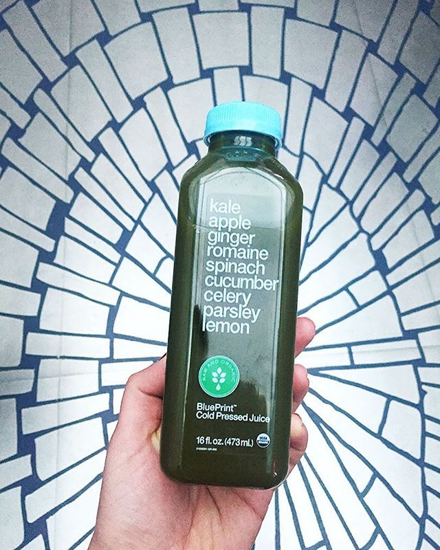 Smash your day with a green juice in hand! BluePrint® Organic Raw - new blueprint cleanse video