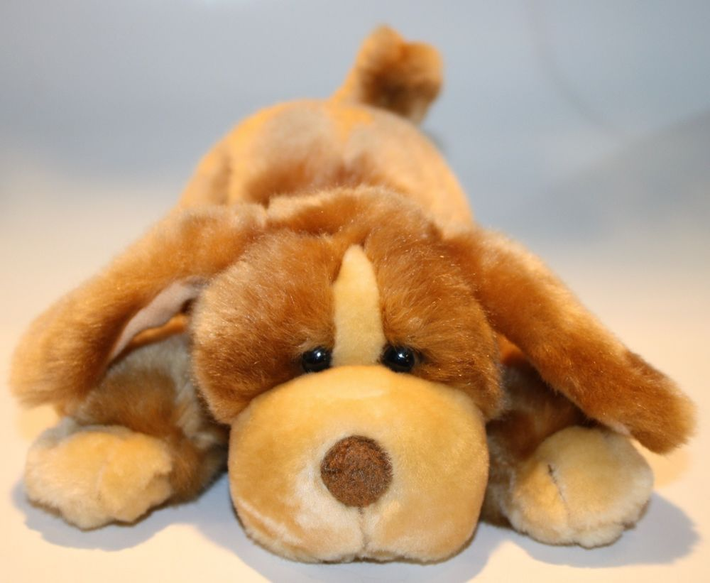 Animal Alley Dog Darby Plush Brown Tan Puppy Small Soft 9 Toys R