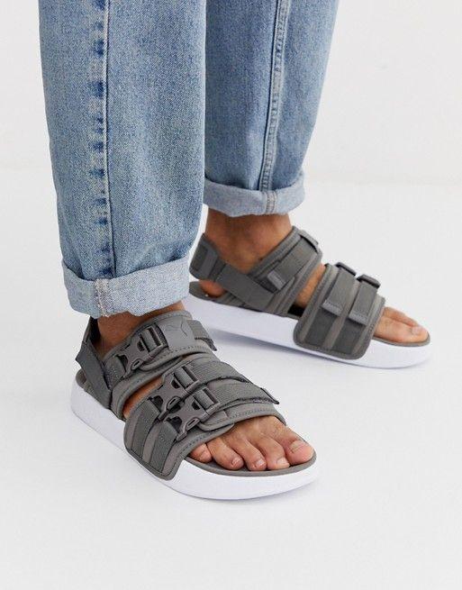 Puma Leadcat YLM 19 sandals in grey