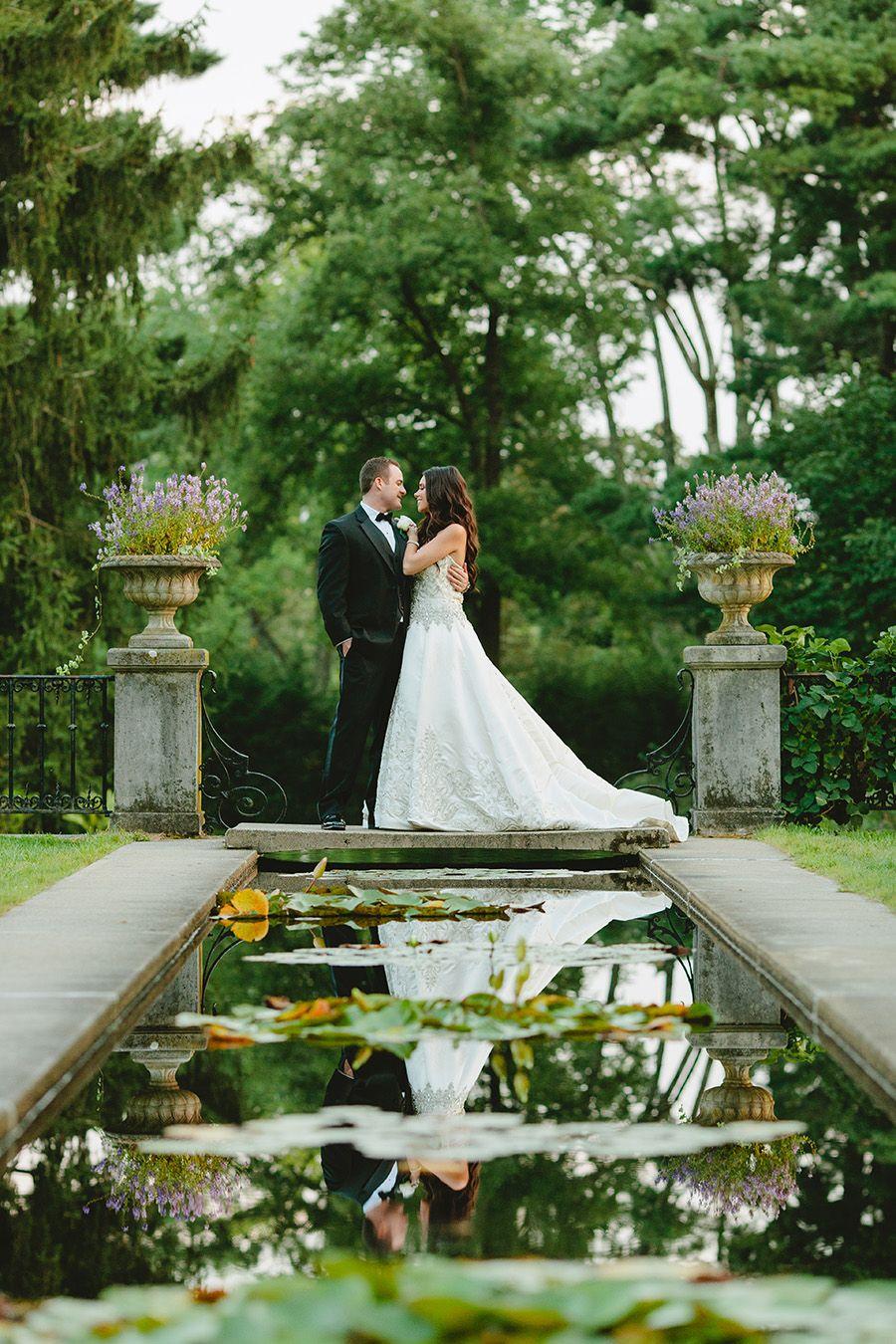 Elegant Wedding Photography: Elegant Garden Wedding Photos At New Jersey Botanical
