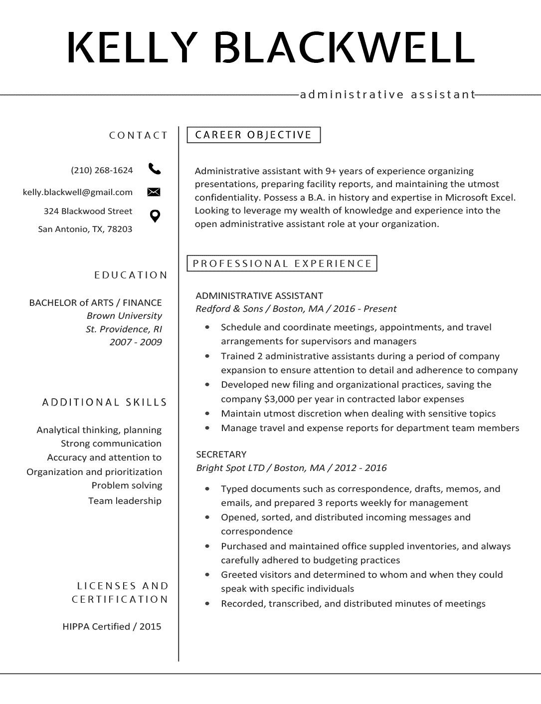 Pin by LaShea Ford on Résumé in 2020 Resume builder