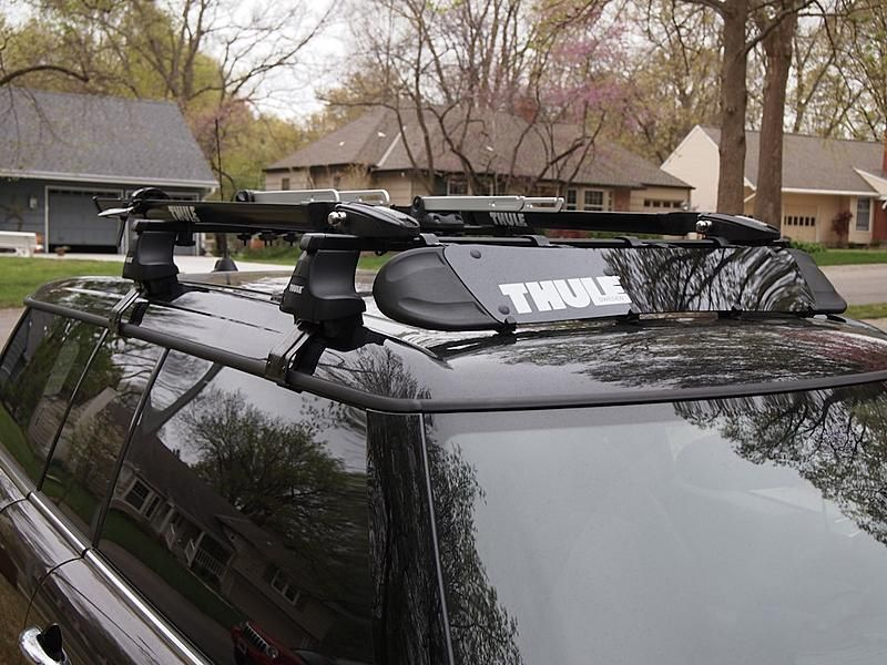 Thule roof rack installed Page 2 North American
