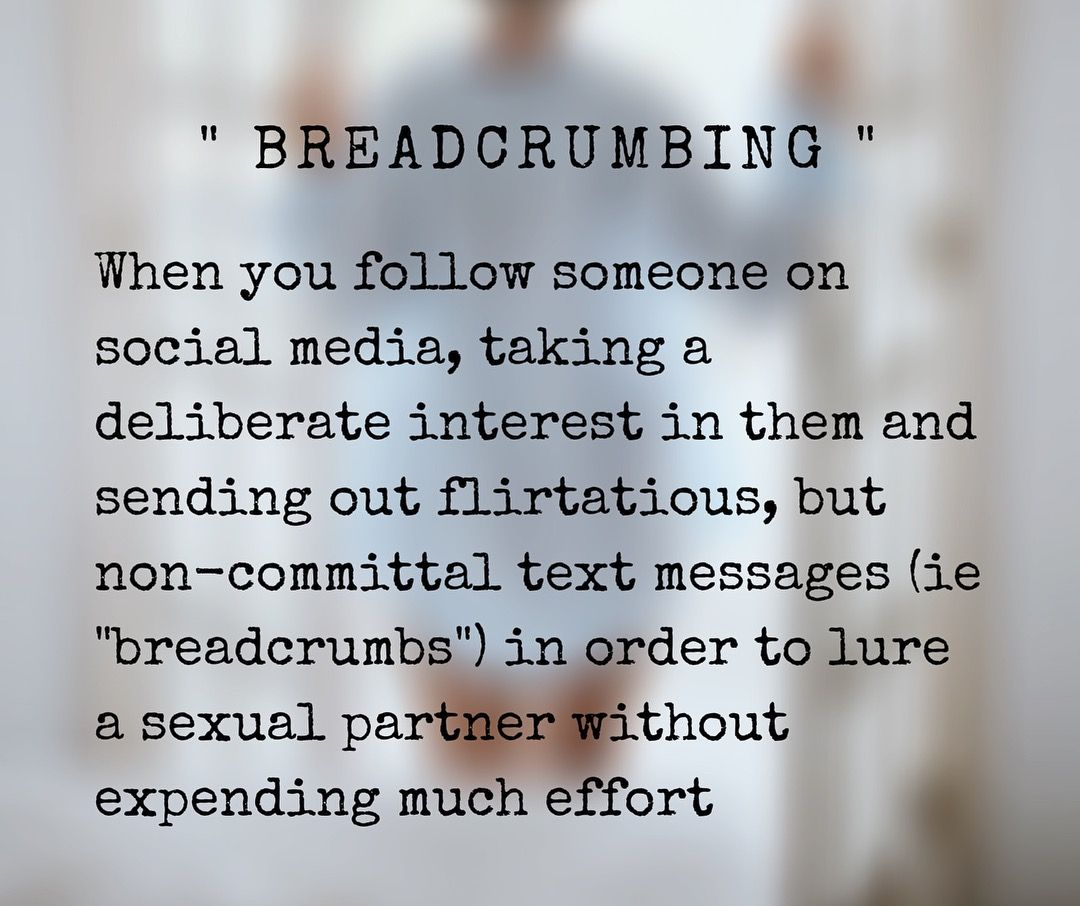 Benching vs. Cushioning vs. Breadcrumbing—Dating Terms Explained | InStyle feature