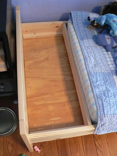 Hacking An Ikea Kritter Bed Bedroom Ikea Toddler Bed Ikea
