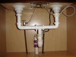 Kitchen Sink Drain Double Kitchen Sink Under Sink Plumbing