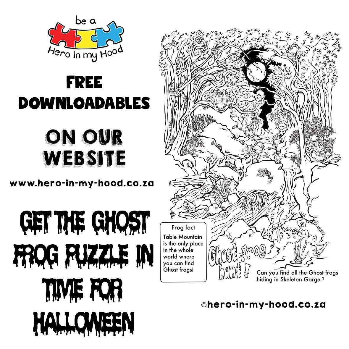 Table Mountain On Halloween 2020 free Halloween Handout on our site, we will announce how many