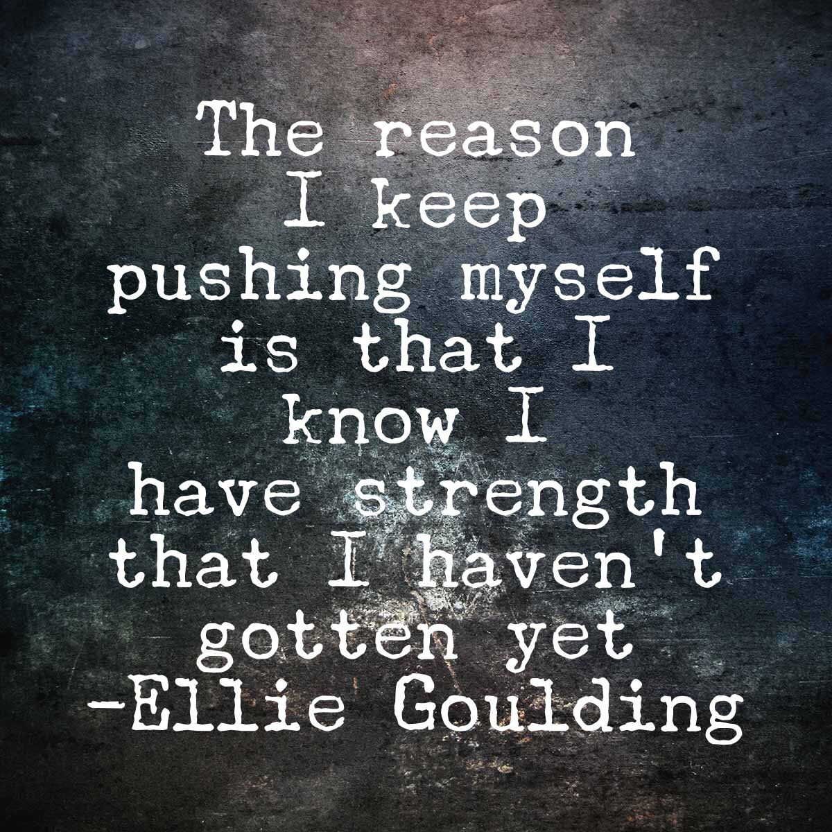 Well Said Ellie Goulding Thankful For Friends