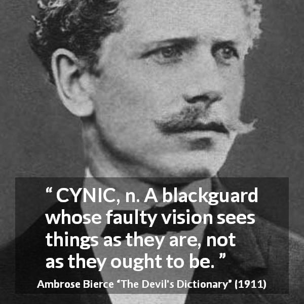 Cynicism Quotes