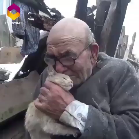 Der arme Mann...😓