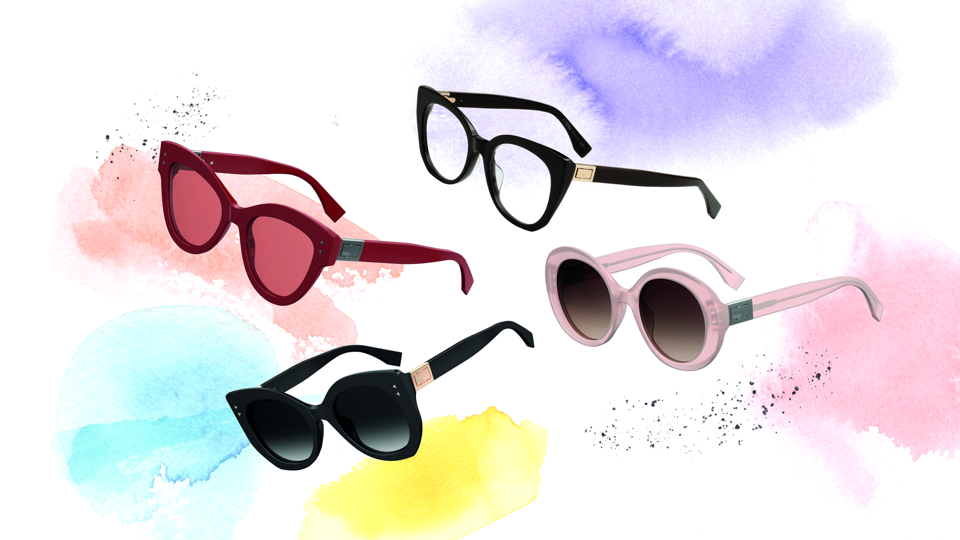 cc059e7593 Fendi Peekaboo Eyewear designes inspired from the iconic bag. Find more on  Fendi.com