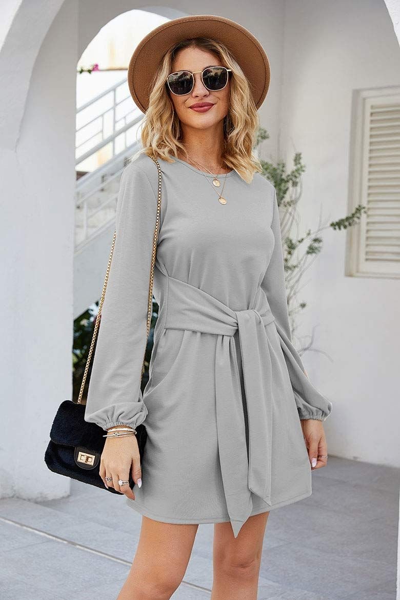 Tobrief Sweater Dresses Casual Sleeve Casual Dresses For Women Sweater Dress Casual Casual Dresses [ 1170 x 780 Pixel ]