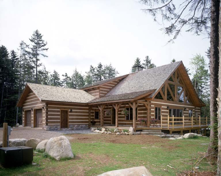 bob timberlake log home plans