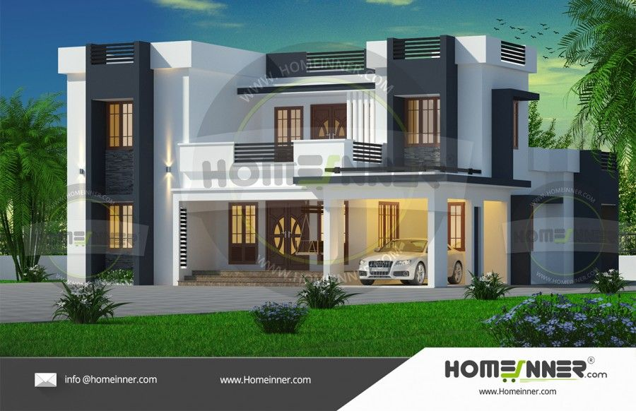 4bhk Kerala Style Best Home Exterior House Exterior Kerala House Design Free House Plans