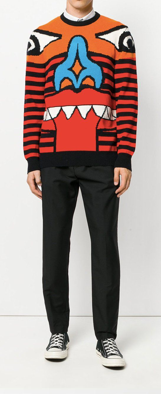 c559f38a140a GIVENCHY Totem sweater, explore new season Givenchy on Farfetch now. Men's  Knitwear, All