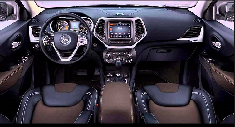 Jeep Grand Cherokee 2018 Interior Design Jeep Cherokee Interior