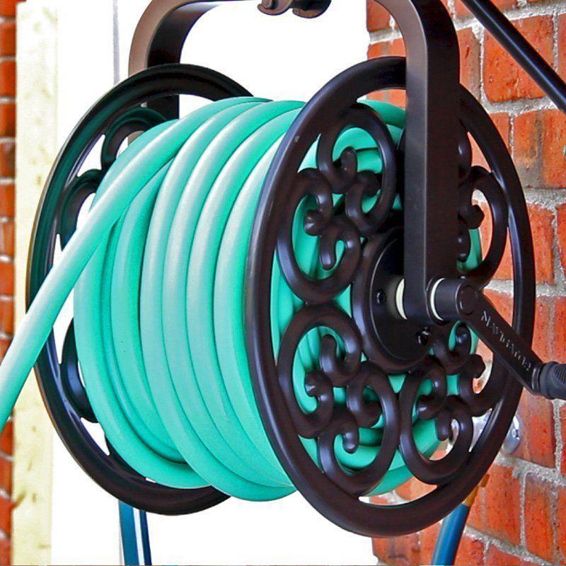 Superior Rotating Garden Hose Reel Swivel Mount Yard Deck Water Patio Pressure  Washer New #LibertyGarden