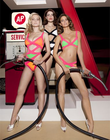 Agent Provocateur Spring Summer 2013 Swimwear Collection   http   www.fashionisers c46a979de