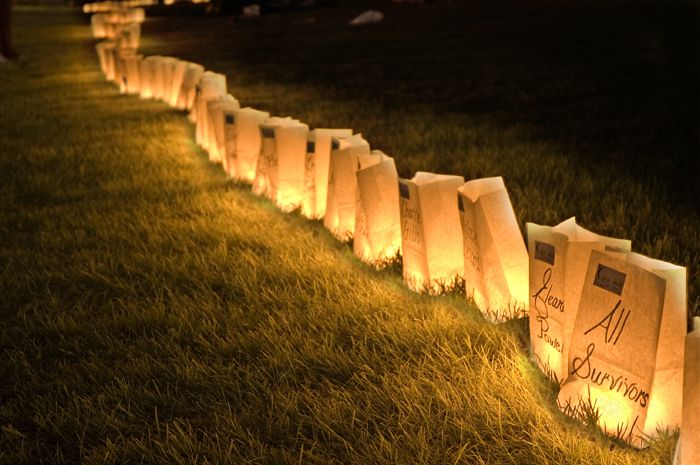 Yessss Walk For Life Candle Bags Relay Clark County Experiment