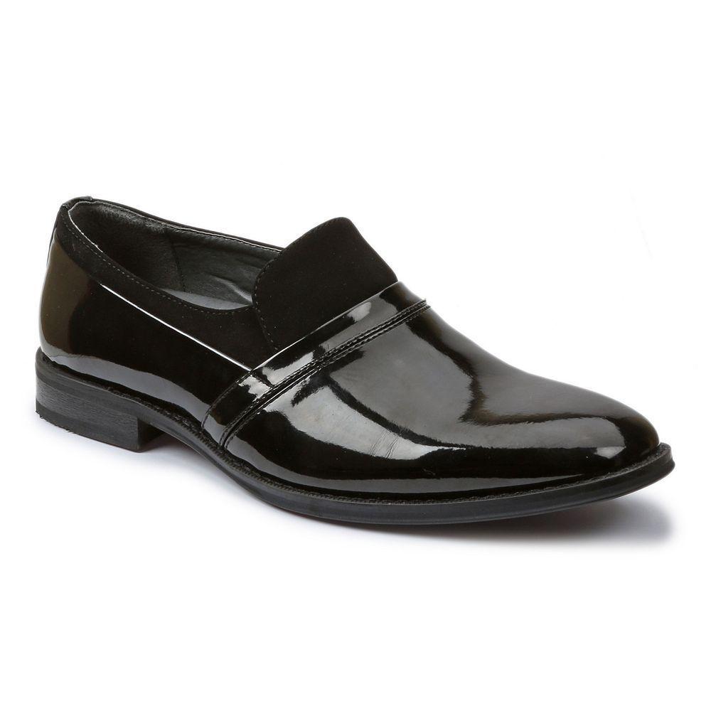 Giorgio Brutini Mens SlipOn Dress Loafers Size medium 12 Black