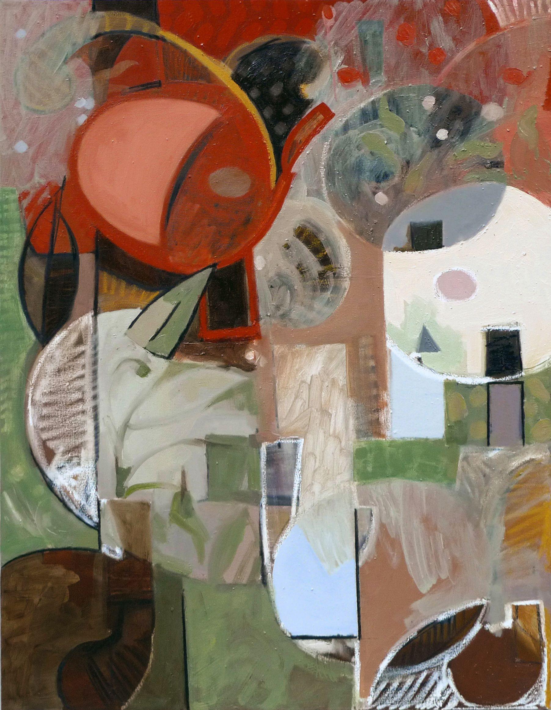 Mauricio Piza Vanitas Oil On Canvas 70 Xc100