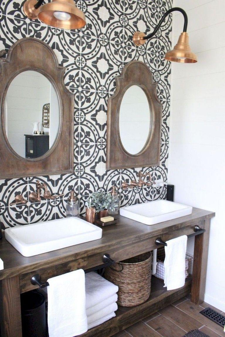 35 Luxury Farmhouse Bathroom Design And Decor Ideas You Will Go Crazy Bathroomdesign Bathroomdecor Bathrooms Bathroomremodeling