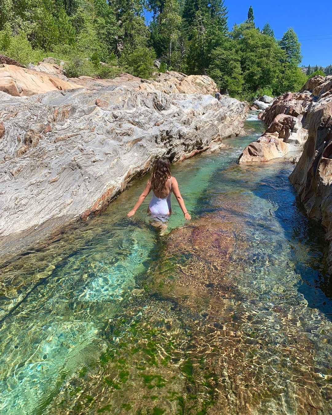 This Easy Trail In California Leads You To The Most Amazing Emerald Pools California Travel Vacation Spots Travel