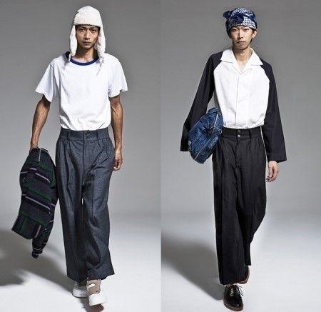 네이버 이미지검색 | 남자 와이드 팬츠 패션