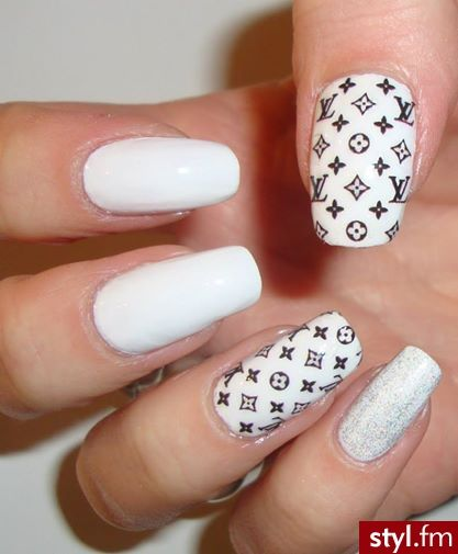 Louis Vuitton Nails Luxury Nails Nail Manicure Best Acrylic Nails