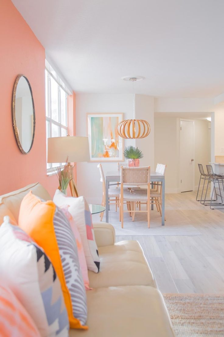 Pin On Room Design #peach #color #for #living #room