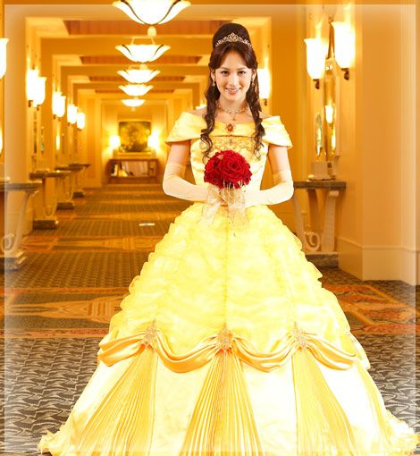 オリジナルドレス Belle, Beauty And The Beast Wedding Dress By
