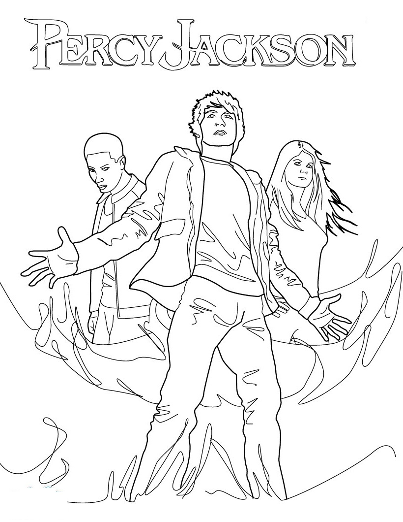 - Percy Jackson Coloring Pages For Free In 2020 Coloring Pages