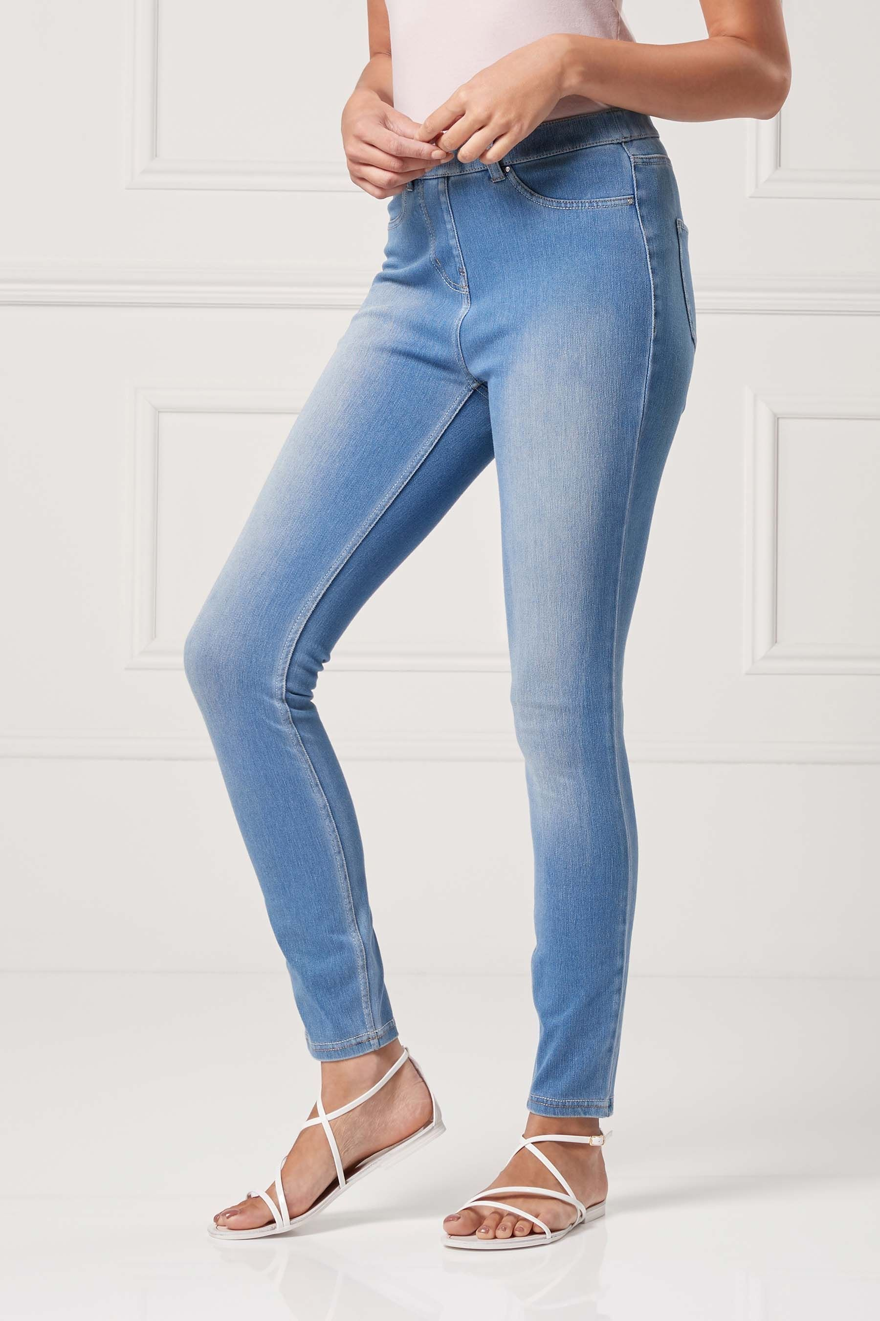 lower price with deft design top quality Buy Bleach Jersey Denim Leggings from the Next UK online ...