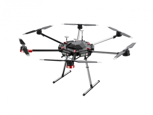 OctoCopter DJI matrice 600 pro Vray 3D Model .max .c4d
