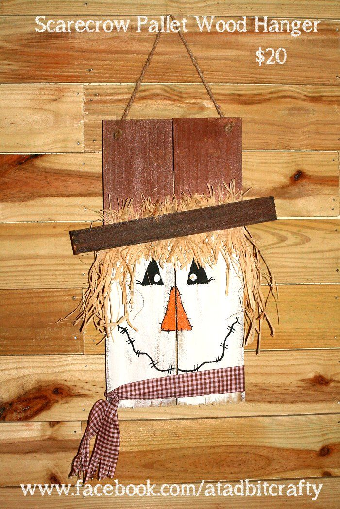 Memes Projects Pallet Scarecrow Project Handmade Crafts Fall