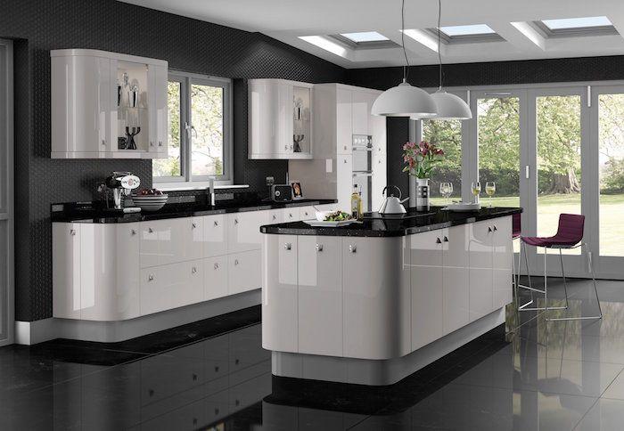 Déco cuisine gris et blanc – sobre et efficace | Cuisine ...