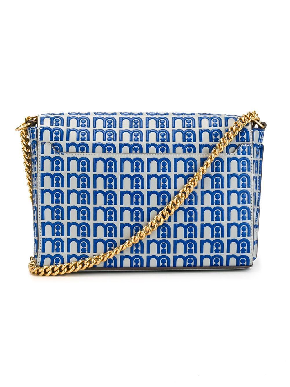 Anya Hindmarch gold-tone chain strap crossbody bag