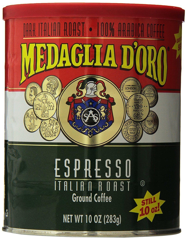 Medaglia doro italian roast espresso coffee want