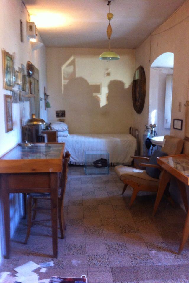 El cuarto del Padre Pío... murió sentado en su sillón el ...