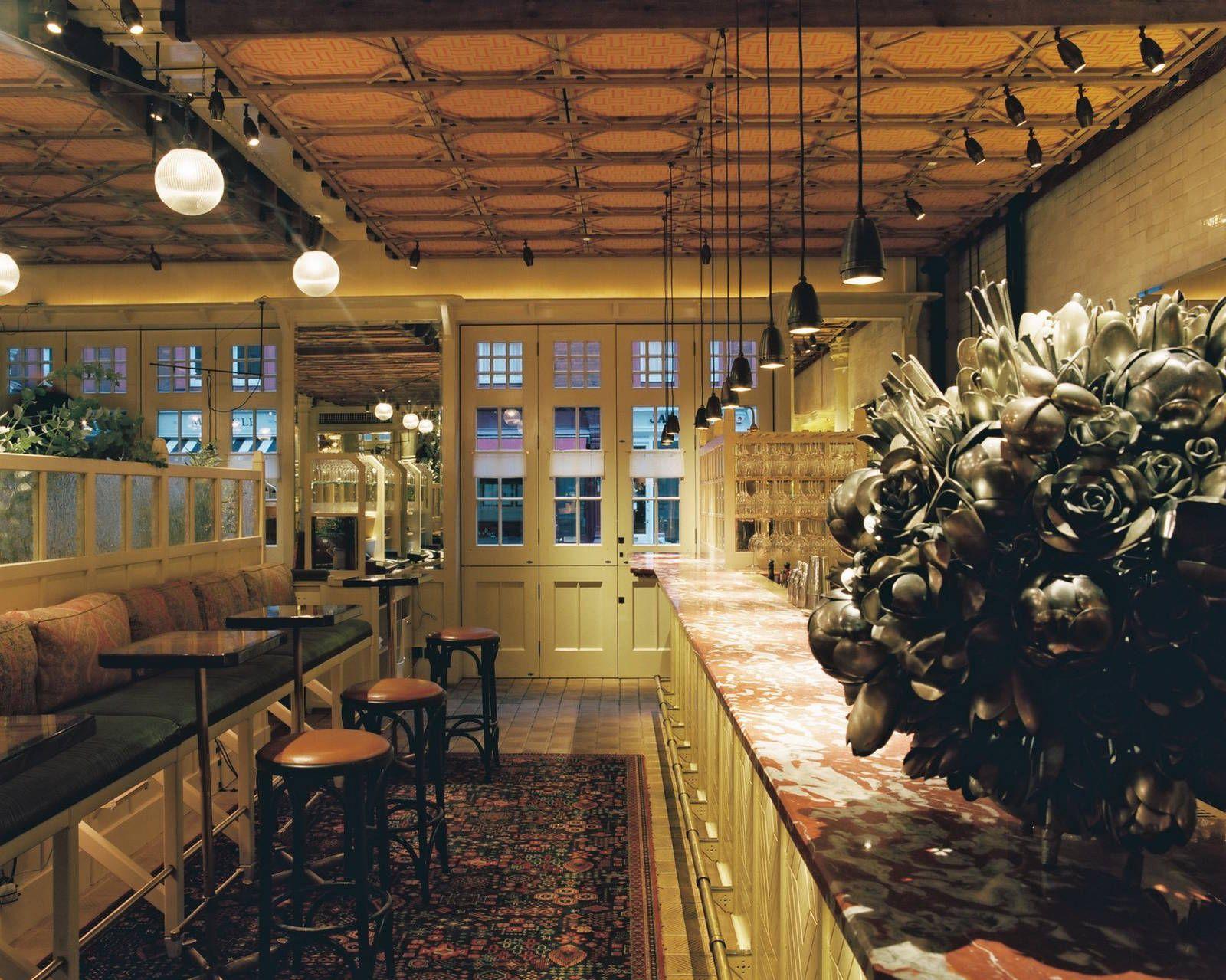 5 Star Restaurants In London Restaurant Chiltern Firehouse