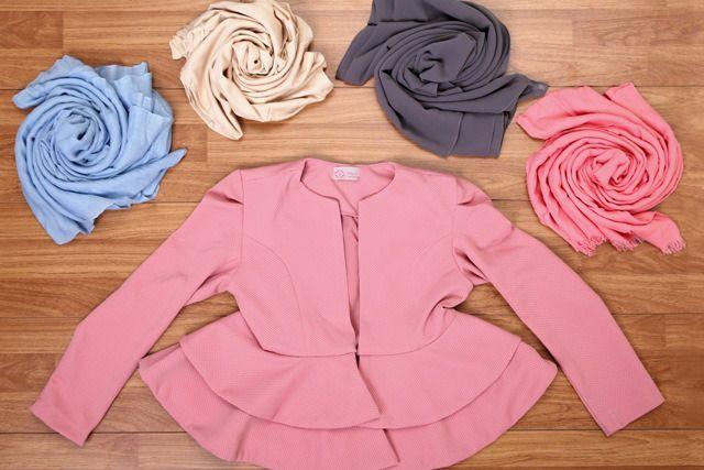Jilbab Yang Cocok Untuk Baju Warna Pink Syifa Di 2018 Pinterest
