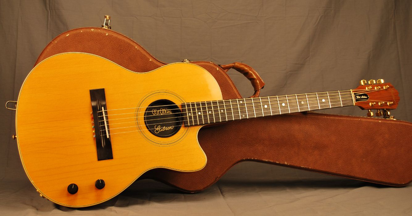 hight resolution of 1988 gibson chet atkins sst