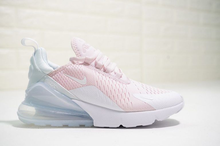 Women Nike Air Max 270 Light Pink Pure White For Sale In 2020 Sneakers Fashion Best Sneakers Trending Shoes