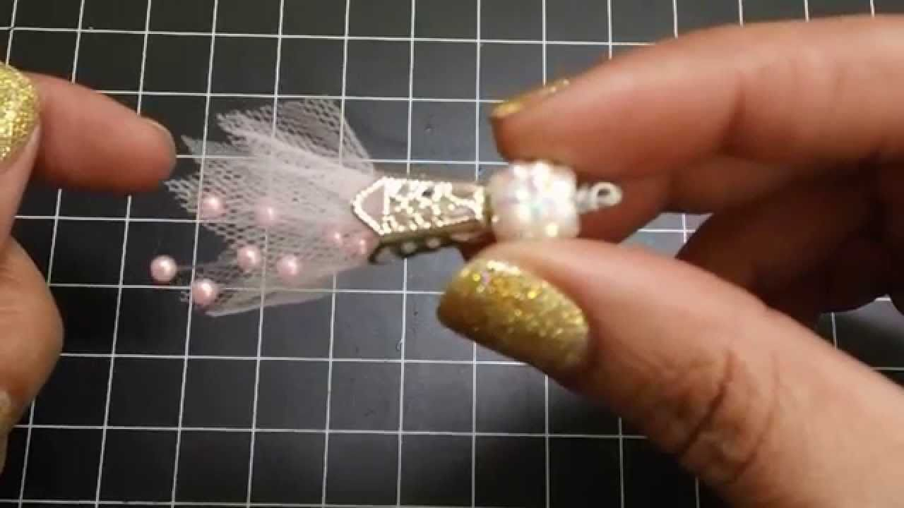 Hi everyone! In this video I'll show you a few different ways to make some really cute tulle bead dangles. I'll also share how you can use other trims and la...
