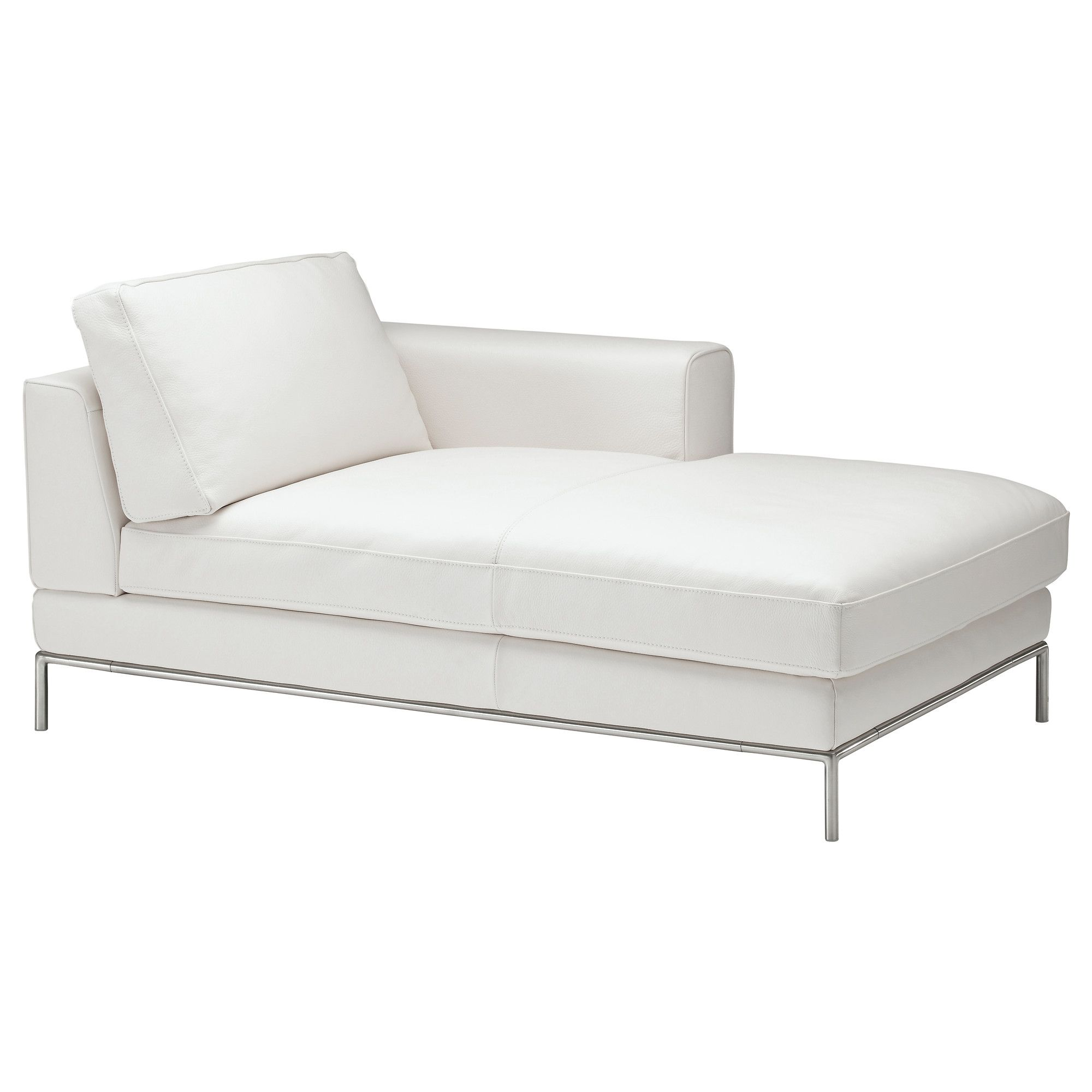 Tjusig ripustin valkoinen chaise longue scene and bedrooms for Chaise longue ikea