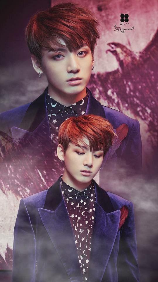 Jungkook Wings Wallpaper | iPhone Wallpapers | Pinterest ...
