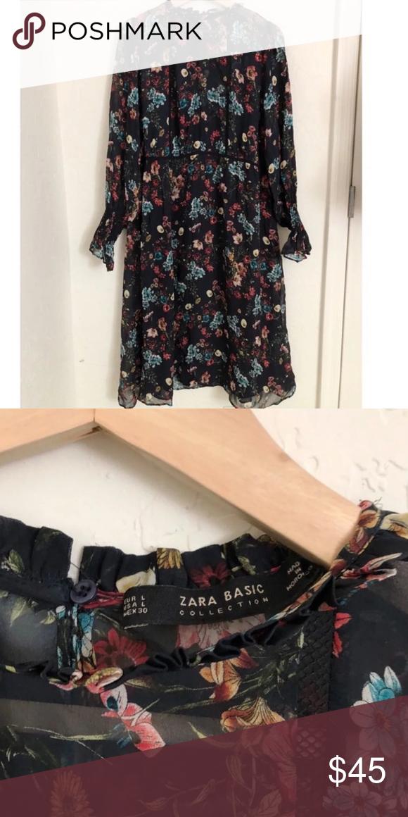 b839fd53a46 Zara midi dress EUC only worn once! Mid shin length Zara Dresses Midi