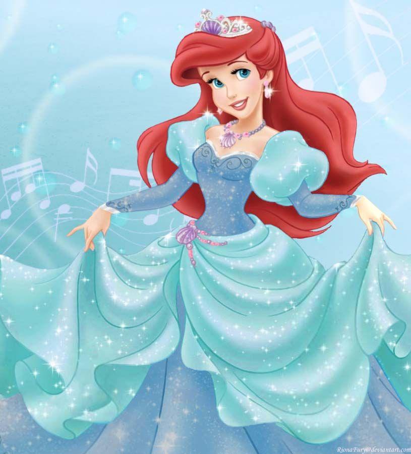 Charming Miss Ariel Disney Art Disney Princess Ariel